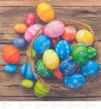Servietten Dyed Eggs (20)